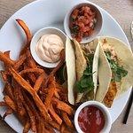 Fish tacos - very good