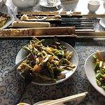 Lunch in Minorities home - delicious