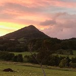 Mount Cooroy at night