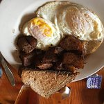 Eggs, Home Fries and Toast