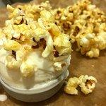 Popcorn ijs