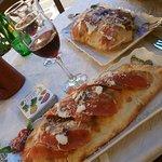 Calzone pizza - so good!