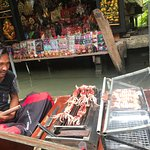 Taling Chan Floating Market Photo