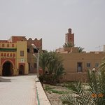 Old medina next to mausoleum