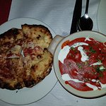 Popadmos (nice base yum) + Lamb Tikka (best English/Indian)