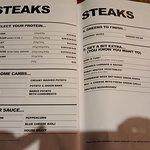Menu (steaks)