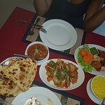 The staff is very friendly had an amazing meal, the chef Dev made us a meal which is not on the
