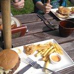 sunday brunch, burgers