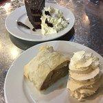 Apple Strudel and Expresso Ganache Cake