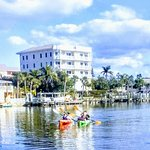 Kayaking and Paddle boarding down at Turtle Beach with Siesta Key Bike And Kayak
