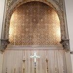 A cross in an islamic setting