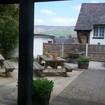 Views from the rear seated garden area, amazing view