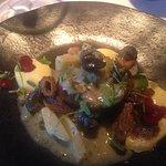 escargot with artichoke and morels