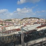 View over the city from the Miradouro