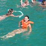 Parada para mergulho na Praia do Forno