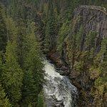 River underneath the jump