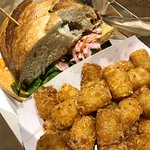 Banh Mi with tater tots