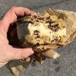 Classic ice cream sandwich, sweet & salty