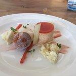 rhubarb dessery