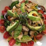 Chicken advocado salad