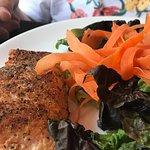 Salmon w salad-perfect