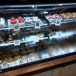 Beautifully displayed pastries