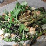 Charred veg salad