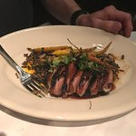 duck and heirloom carrots
