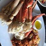 Crab legs!!