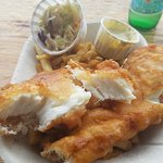 Halibut Fish n Chips