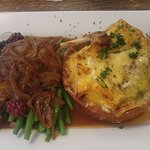 Duck Confit with Dauphinois potatoes