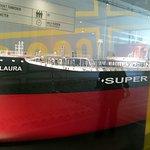 Model af en supertanker