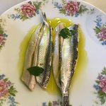 Small fishes in olive oil