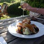 Sunday lunch in the garden