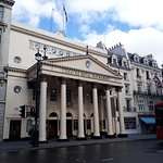 The Theatre Royal  is opposite