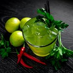 PARSLEY & FEIJOA LEMONADE