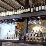 Joli bar rustique à l'ancienne