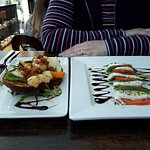 Two of the starters!, for lunch