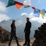 Prayer Flags in Everest Area
