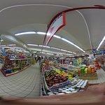 スーパーマーケットエリアです
