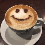 start the day with a smile and a great coffee
