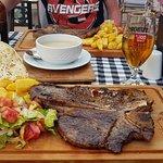 T-bone steak absolutely amazing
