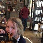 Delicious kids spaghetti bolognaise!