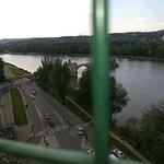 Vus du Pont d'Avignon depuis le Rocher des Doms
