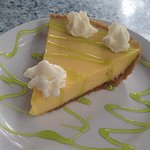The best Key lime pie , made fresh at the restaurant, every day  !