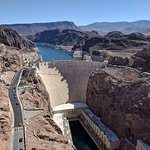 View of the Hoover Dam