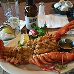 Great stuffed lobster, and pretty cheap.