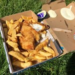 Take away and eaten in the park