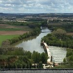 The view of the Rio Duero from my balcony