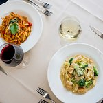 Two of our most popular pasta dishes.